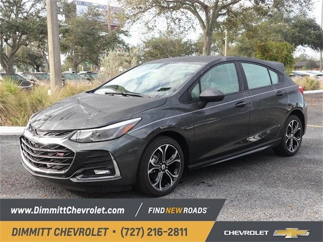 2019 Nightfall Gray Metallic Chevy Cruze LT Automatic 4 Door Hatchback FWD 1.4L 4-Cylinder Turbo DOHC CVVT Engine