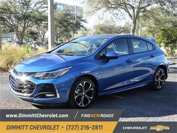 2019 Kinetic Blue Metallic Chevy Cruze LT Hatchback FWD Automatic 4 Door 1.4L 4-Cylinder Turbo DOHC CVVT Engine