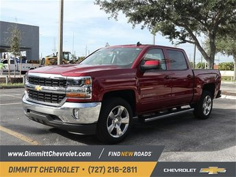 2018 Chevy Silverado 1500 LT EcoTec3 5.3L V8 Flex Fuel Engine RWD Truck 4 Door Automatic