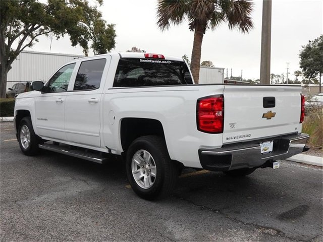 2018 Summit White Chevy Silverado 1500 LT RWD EcoTec3 5.3L V8 Flex Fuel Engine 4 Door