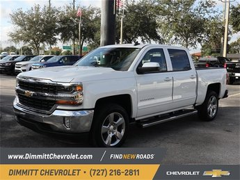 2018 Chevy Silverado 1500 LT 4 Door EcoTec3 5.3L V8 Flex Fuel Engine Automatic Truck RWD