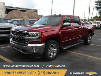 2018 Cajun Red Tintcoat Chevy Silverado 1500 LTZ EcoTec3 5.3L V8 Flex Fuel Engine Automatic 4 Door Truck RWD