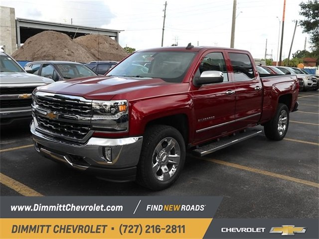 2018 Cajun Red Tintcoat Chevy Silverado 1500 LTZ Automatic 4 Door EcoTec3 5.3L V8 Flex Fuel Engine RWD