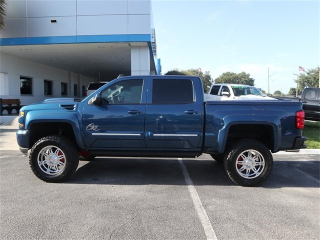 2018 Deep Ocean Blue Metallic Chevy Silverado 1500 LT Automatic 4 Door Truck