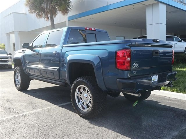 2018 Deep Ocean Blue Metallic Chevy Silverado 1500 LT EcoTec3 5.3L V8 Engine 4 Door Truck 4X4