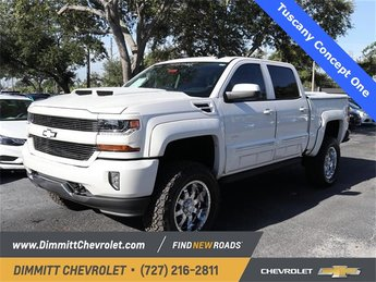 2018 Chevy Silverado 1500 LT Automatic EcoTec3 5.3L V8 Engine 4X4 4 Door Truck