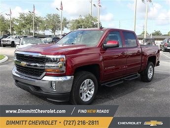 2018 Chevy Silverado 1500 LT 4 Door 4X4 Truck EcoTec3 4.3L V6 Engine Automatic
