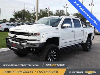 2018 Summit White Chevy Silverado 1500 LTZ 4X4 EcoTec3 6.2L V8 Engine 4 Door Automatic