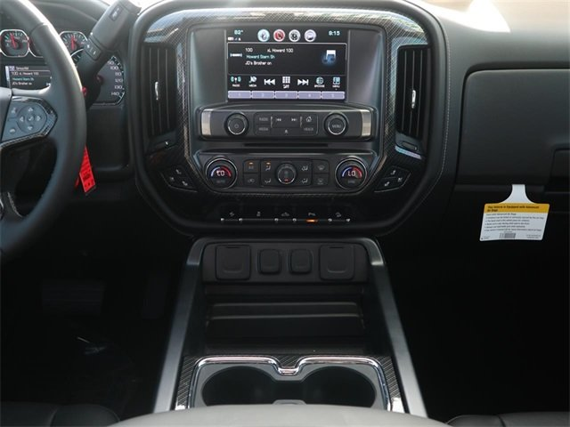 2018 Black Chevy Silverado 1500 LTZ Truck Automatic 4X4 4 Door