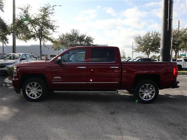 2018 Cajun Red Tintcoat Chevy Silverado 1500 High Country 4X4 EcoTec3 5.3L V8 Engine 4 Door Automatic Truck