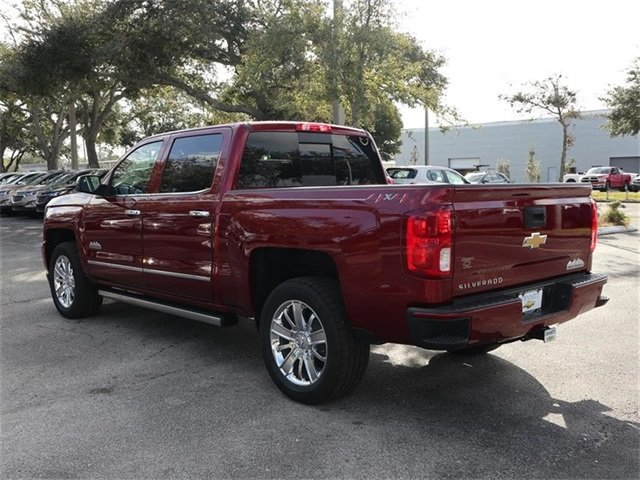 2018 Chevy Silverado 1500 High Country Truck 4X4 EcoTec3 5.3L V8 Engine
