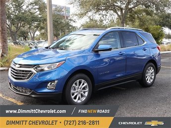 2019 Blue Metallic Chevy Equinox LT Automatic FWD 1.5L DOHC Engine 4 Door SUV