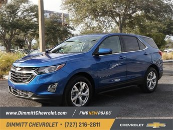 2019 Blue Metallic Chevy Equinox LT FWD SUV 4 Door 1.5L DOHC Engine