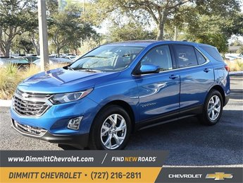 2019 Blue Metallic Chevy Equinox LT 1.5L DOHC Engine SUV 4 Door FWD Automatic