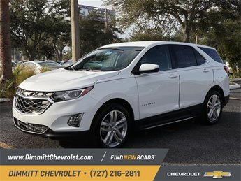 2019 Summit White Chevy Equinox LT FWD Automatic 1.5L DOHC Engine SUV 4 Door