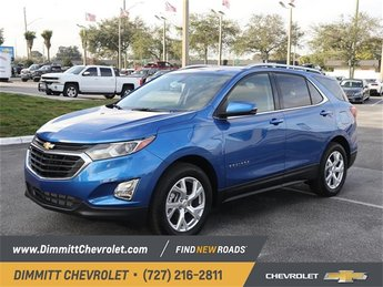 2019 Blue Metallic Chevy Equinox LT FWD SUV Automatic 2.0L Turbocharged Engine