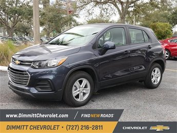 2019 Storm Blue Metallic Chevy Trax LS ECOTEC 1.4L I4 SMPI DOHC Turbocharged VVT Engine SUV 4 Door FWD