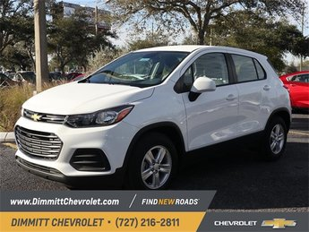2019 Chevy Trax LS FWD ECOTEC 1.4L I4 SMPI DOHC Turbocharged VVT Engine 4 Door Automatic
