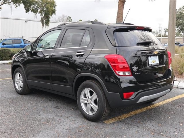 2019 Black Metallic Chevy Trax LT 4 Door SUV ECOTEC 1.4L I4 SMPI DOHC Turbocharged VVT Engine Automatic FWD