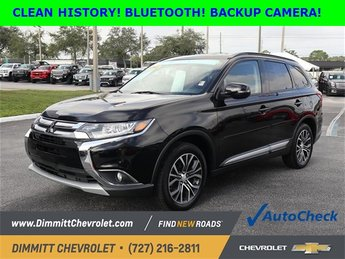 2016 Mitsubishi Outlander SEL 2.4L I4 SOHC Engine 4X4 4 Door