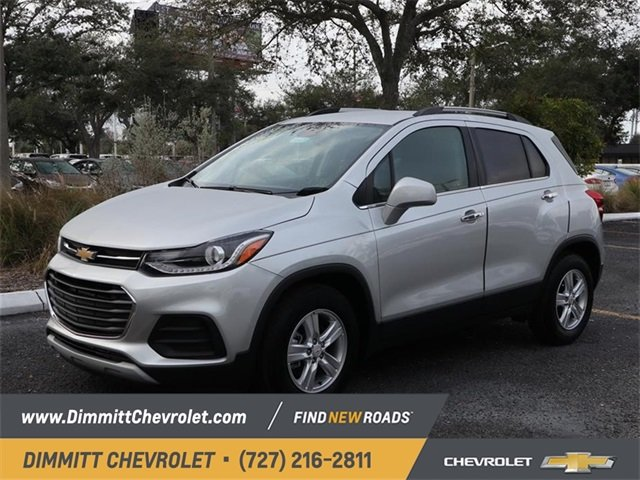 2019 Silver Ice Metallic Chevy Trax LT FWD ECOTEC 1.4L I4 SMPI DOHC Turbocharged VVT Engine SUV