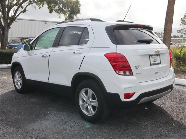 2019 Summit White Chevy Trax LT SUV 4 Door Automatic