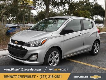 2019 Silver Ice Metallic Chevy Spark LS Hatchback 4 Door Manual FWD