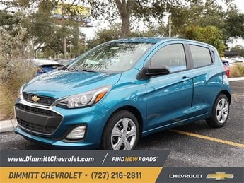 2019 Caribbean Blue Metallic Chevy Spark LS FWD 4 Door Hatchback Automatic (CVT)