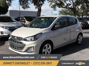 2019 Toasted Marshmallow Chevy Spark LS Hatchback 1.4L DOHC Engine FWD Automatic (CVT) 4 Door