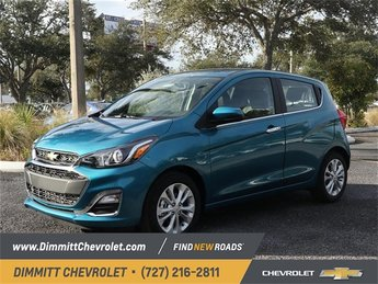 2019 Caribbean Blue Metallic Chevy Spark LT 1.4L DOHC Engine 4 Door FWD Hatchback Automatic (CVT)