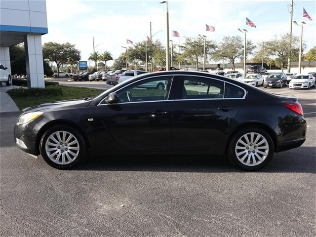 2011 Carbon Black Metallic Buick Regal CXL RL6 FWD Sedan Automatic 4 Door ECOTEC 2.4L I4 SIDI DOHC VVT Engine