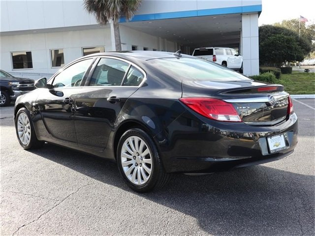 2011 Carbon Black Metallic Buick Regal CXL RL6 FWD Sedan ECOTEC 2.4L I4 SIDI DOHC VVT Engine Automatic