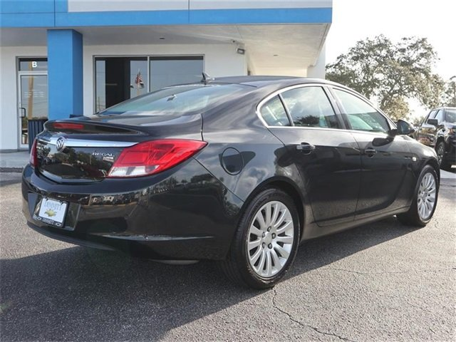 2011 Carbon Black Metallic Buick Regal CXL RL6 FWD Automatic 4 Door ECOTEC 2.4L I4 SIDI DOHC VVT Engine