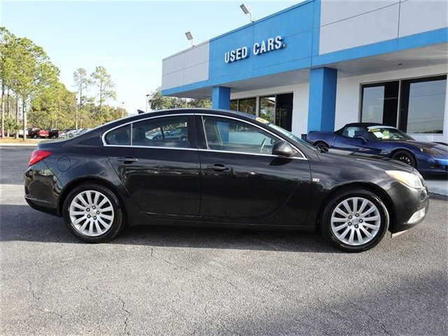 2011 Carbon Black Metallic Buick Regal CXL RL6 FWD 4 Door ECOTEC 2.4L I4 SIDI DOHC VVT Engine