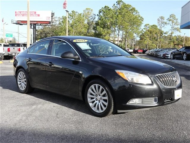 2011 Carbon Black Metallic Buick Regal CXL RL6 Automatic Sedan FWD
