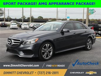 2015 Mercedes-Benz E-Class E 350 4 Door Sedan Automatic 3.5L 6-Cylinder DOHC Engine RWD