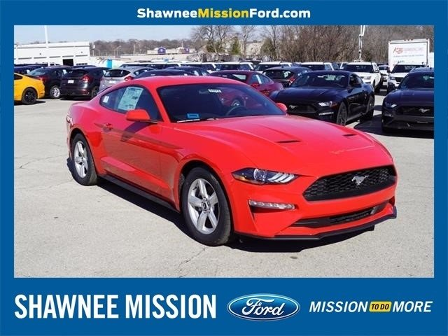 2018 Race Red Ford Mustang EcoBoost EcoBoost 2.3L I4 GTDi DOHC Turbocharged VCT Engine 2 Door RWD Automatic