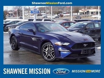 2018 Kona Blue Metallic Ford Mustang EcoBoost Automatic EcoBoost 2.3L I4 GTDi DOHC Turbocharged VCT Engine RWD