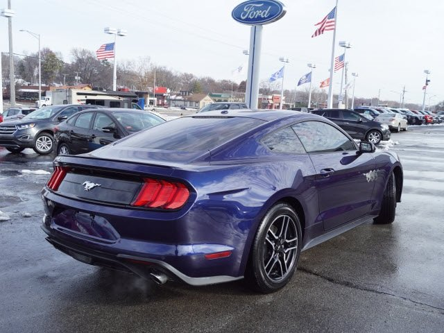 2018 Ford Mustang EcoBoost Coupe EcoBoost 2.3L I4 GTDi DOHC Turbocharged VCT Engine RWD Automatic 2 Door