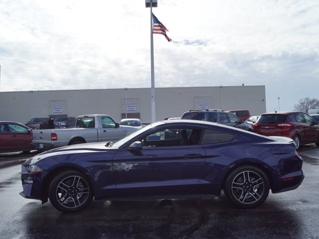 2018 Ford Mustang EcoBoost EcoBoost 2.3L I4 GTDi DOHC Turbocharged VCT Engine RWD 2 Door Coupe