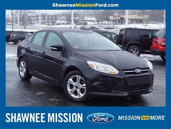 2014 Special Ford Focus SE 4 Door 2.0L 4-Cylinder DGI DOHC Engine Sedan Manual FWD