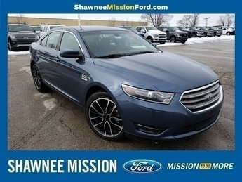 2018 Blue Metallic Ford Taurus SEL Sedan 4 Door FWD 3.5L V6 Ti-VCT Engine Automatic