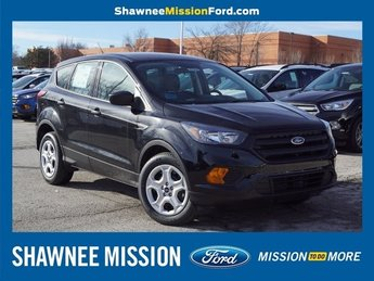 2019 Agate Black Metallic Ford Escape S 2.5L iVCT Engine FWD SUV Automatic 4 Door