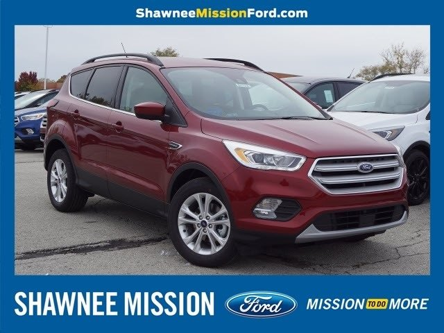 2019 Ruby Red Metallic Tinted Clearcoat Ford Escape SEL Automatic SUV 4 Door