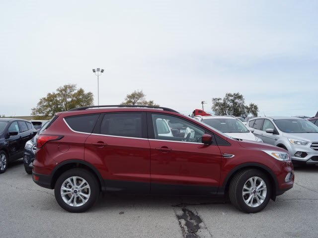2019 Ruby Red Metallic Tinted Clearcoat Ford Escape SEL SUV Automatic EcoBoost 1.5L I4 GTDi DOHC Turbocharged VCT Engine