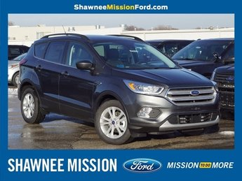 2019 Magnetic Metallic Ford Escape SEL EcoBoost 1.5L I4 GTDi DOHC Turbocharged VCT Engine 4 Door SUV