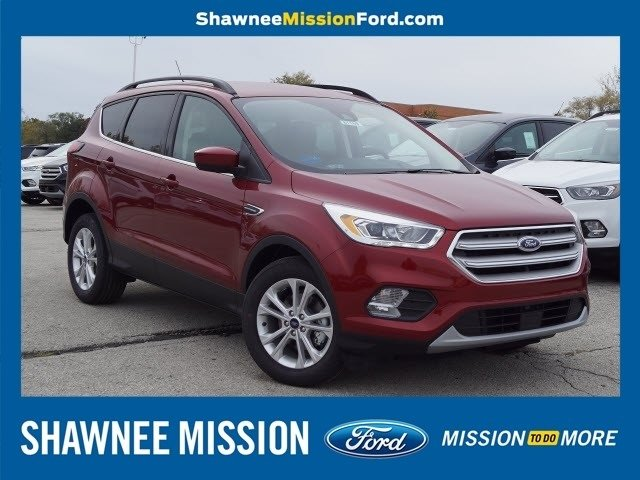 2019 Ruby Red Metallic Tinted Clearcoat Ford Escape SEL SUV 4 Door Automatic EcoBoost 1.5L I4 GTDi DOHC Turbocharged VCT Engine