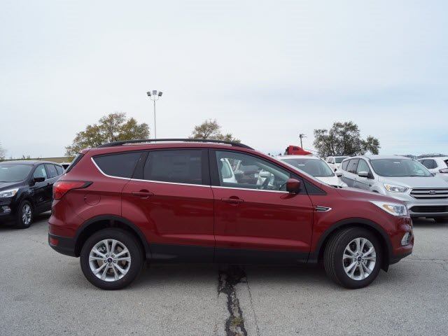 2019 Ruby Red Metallic Tinted Clearcoat Ford Escape SEL 4 Door Automatic EcoBoost 1.5L I4 GTDi DOHC Turbocharged VCT Engine