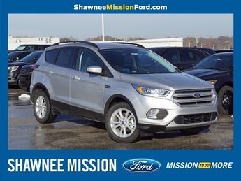 2019 Ingot Silver Metallic Ford Escape SEL 4 Door EcoBoost 1.5L I4 GTDi DOHC Turbocharged VCT Engine SUV