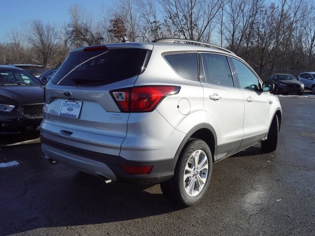 2019 Ingot Silver Metallic Ford Escape SEL SUV EcoBoost 1.5L I4 GTDi DOHC Turbocharged VCT Engine FWD 4 Door Automatic